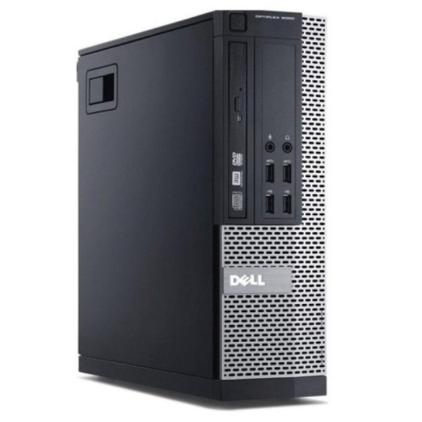Sistem Desktop PC Dell Optiplex 9020 SFF cu procesor Intel Core i5 - 4570, memorie Ram 8GB DDR3, unitate stocare HDD de 500GB dedicat office/birou
