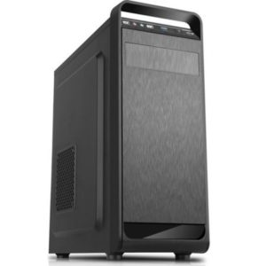 Sistem PC Desktop Gaming cu Procesor Intel Quad-Core i5 750, 8GB DDR3, unitate stocare HDD de 500GB, Placa video dedicata Ati AMD Radeon RX 550 4GB