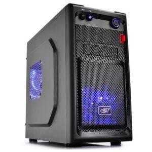 Sistem PC Desktop Gaming cu Procesor Intel Quad-Core i5-4790, 8GB DDR3, unitate stocare HDD de 1000GB, Placa video dedicata AMD ATI Radeon RX 550 recomandat pentru jocuri