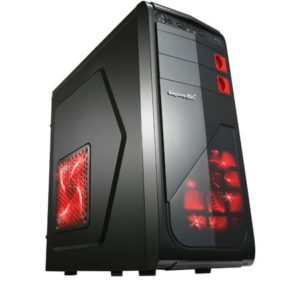 Sistem PC Desktop Gaming cu Procesor Intel Quad-Core i5-4570, 8GB DDR3, 500GB HDD, Placa video dedicata AMD ATI Radeon R7 370 4GB
