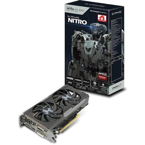 Placa video ATI AMD Sapphire Radeon R7 370 NITRO, 4GB GDDR5 256 bit