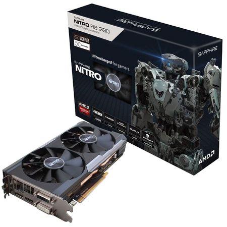 Placa video Sapphire ATI AMD Radeon R9 380 NITRO, 4GB GDDR5, 256bit SH